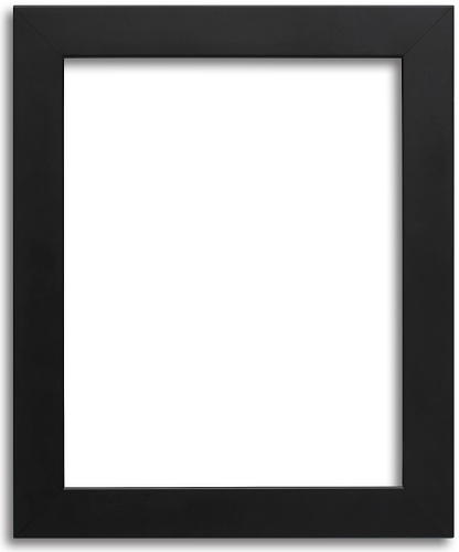 modern picture frames. 314 Custom - Perfect Black Modern Frame Modern Picture Frames U