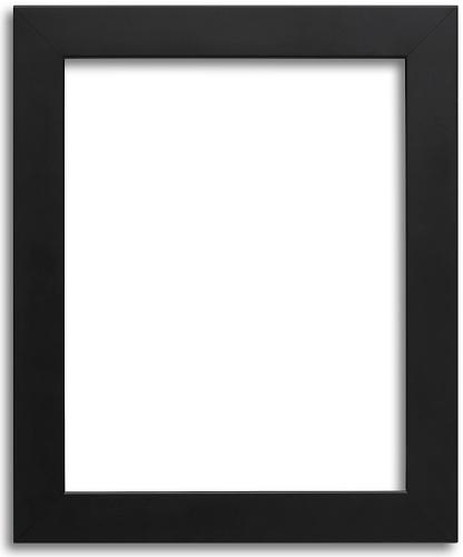 Home > CUSTOM FRAME > Custom Original > 314 Custom - Perfect Black Modern  Frame