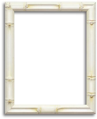 Home > CUSTOM FRAME > Custom Original > 6WH - White Bamboo Finish Frame