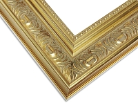 A15 - Custom Vintage Ornate Gold Frame
