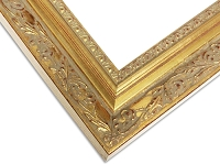 22 - Custom Embossed Gold Classical Frame
