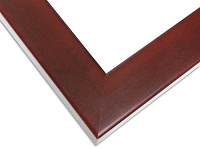 314R - Mahogany Style Picture Frame