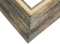 Mont - Distressed Gray Wooden Art Frame