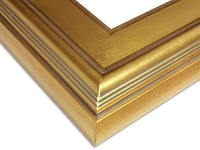 LT6G - Ready Made Solid Gold Frame