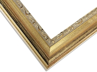 20G - Custom Distressed Antique Gold Frame