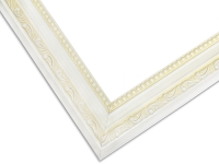 18WH - Perfect White And Ivory Picture Frame