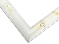 6WH - White Bamboo Finish Frame