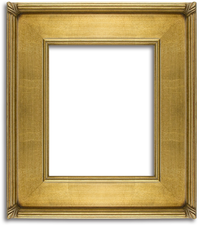 Antique Gold Leaf Plein Air Frame