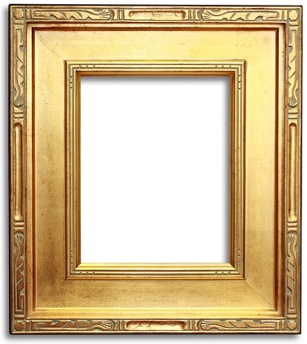 Plein Air Frame Gold With Black