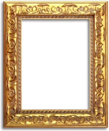 27G - Custom Golden Ornated Style Frame