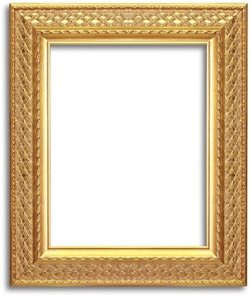 6684 - Custom Gold Leaf Baroque Style Frame