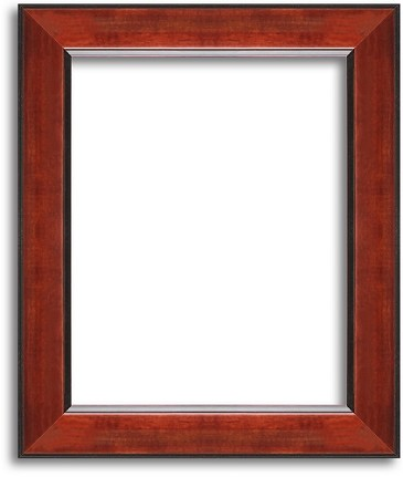 215R Red Wooden Picture Frame