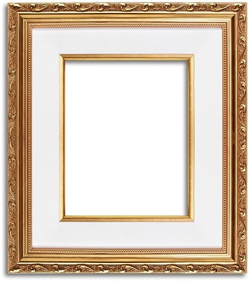9702G - Rich Gold Leaf Luxury Frame