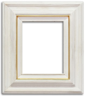 Phoenix - White Washed Rustic Frame