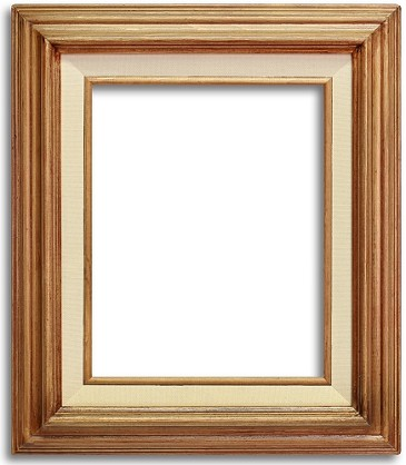 Teca - Natural Brown Wood Western Frames
