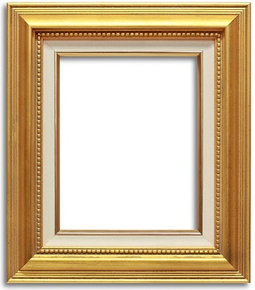 520G - Smooth Gold Frame