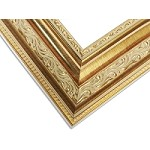 2861 - Custom Classic Rich Gold Frame