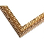 18G - Dark Antiqued Gold Picture Frame
