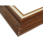 Kentucky - Brown Walnut Traditional Frame