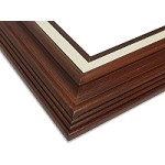 Zaca - Medium Walnut Frames